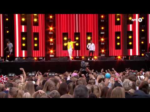 Nico & Vinz - When the day comes - In your arms - Rådhusplassen 2015 - 1080p