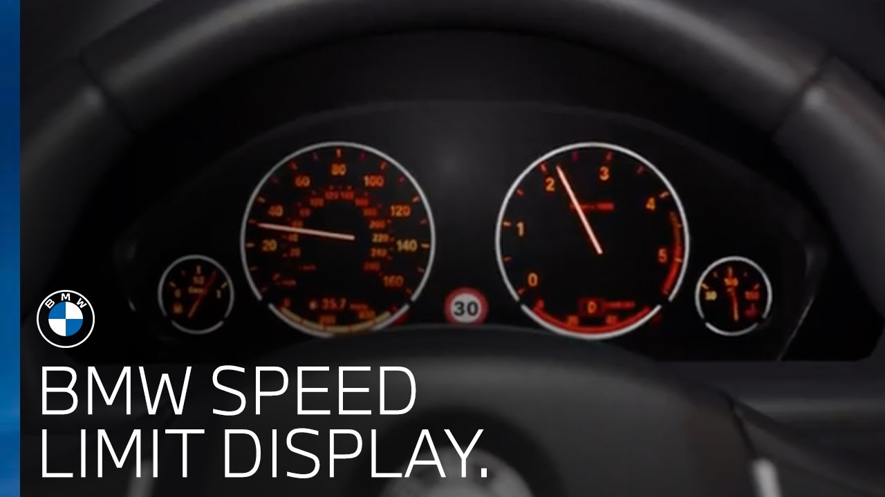 BMW Speed Limit Display | BMW UK