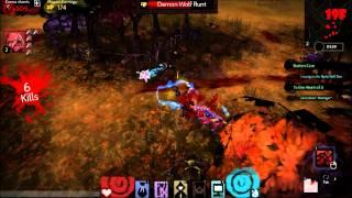 Akaneiro: Demon Hunters (OBT) - Gameplay
