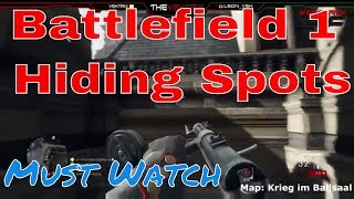 Battlefield 1 hiding spot | Battlefield 1 gameplay | battlefield | call of duty