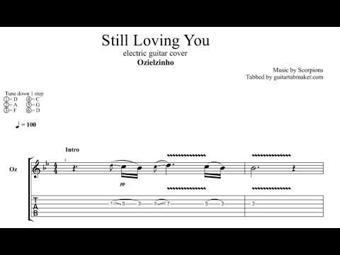 Ozielzinho - Still Loving You TAB - electric guitar tab ...