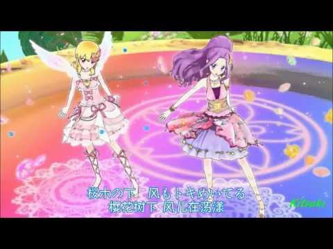 【HD】Aikatsu! - episode 28 - Ichigo vs Mizuki - Shining Sky of The G String【中文字幕】