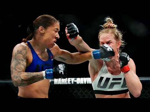 UFC 208: Holly Holm vs Germaine de Randamie - fight stats