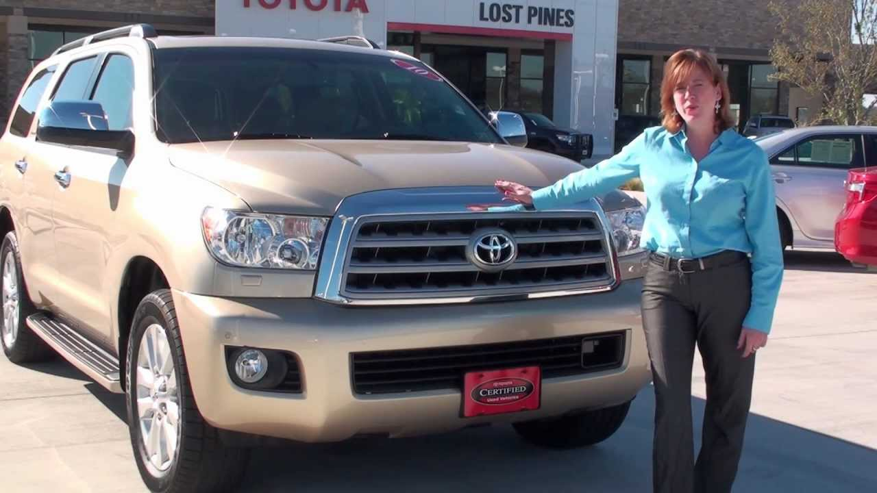 Pre Owned Toyota >> 2010 Sandy Beach Metallic Toyota Sequoia Ebay Pre-Owned ...