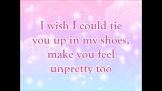 Glee Pretty/Unpretty karaoke in D Major (-1 pitch)