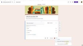 Google Forms 2020 perusteet suomeksi