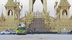 Thaimaan kuninkaan kremaatiopaviljokia jo puretaan?