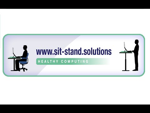 Ergocube Freedesk available from  www.sit-stand.solutions