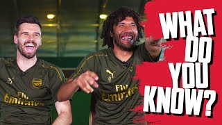 THE FUNNIEST EPISODE SO FAR?! | Mohamed Elneny v Carl Jenkinson | What Do You Know?