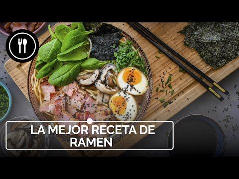 Esta es LA MEJOR receta de RAMEN que vas a encontrar