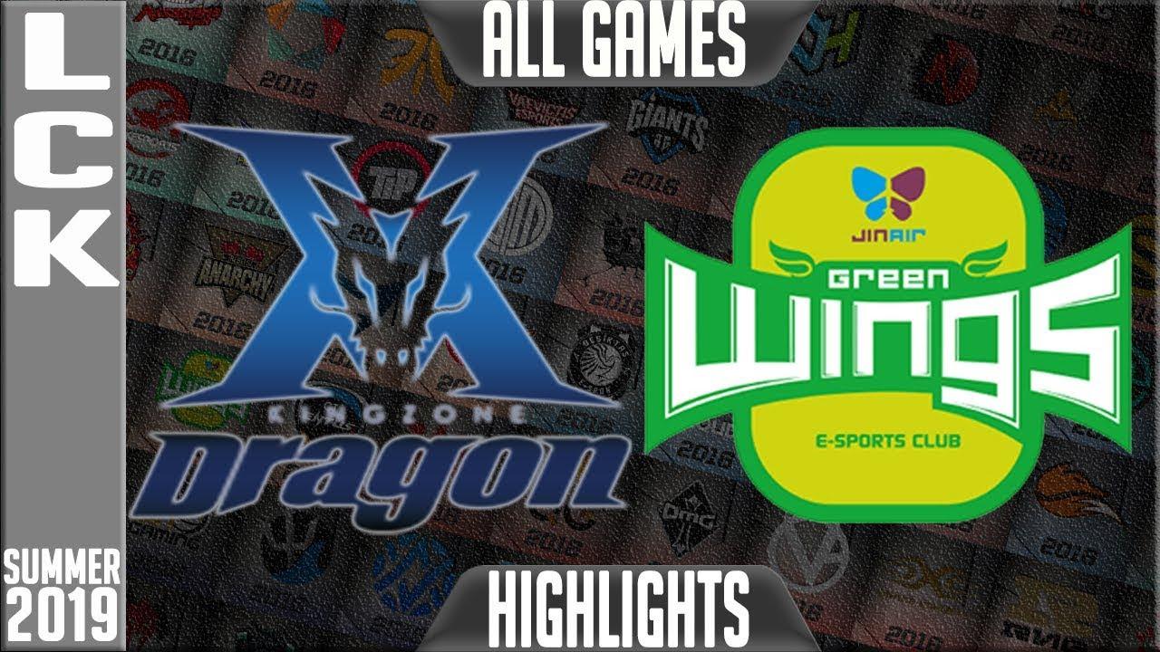KZ vs JAG Highlights ALL GAMES | LCK Summer 2019 Week 3 Day 1 | King-Zone DragonX vs Jin Air