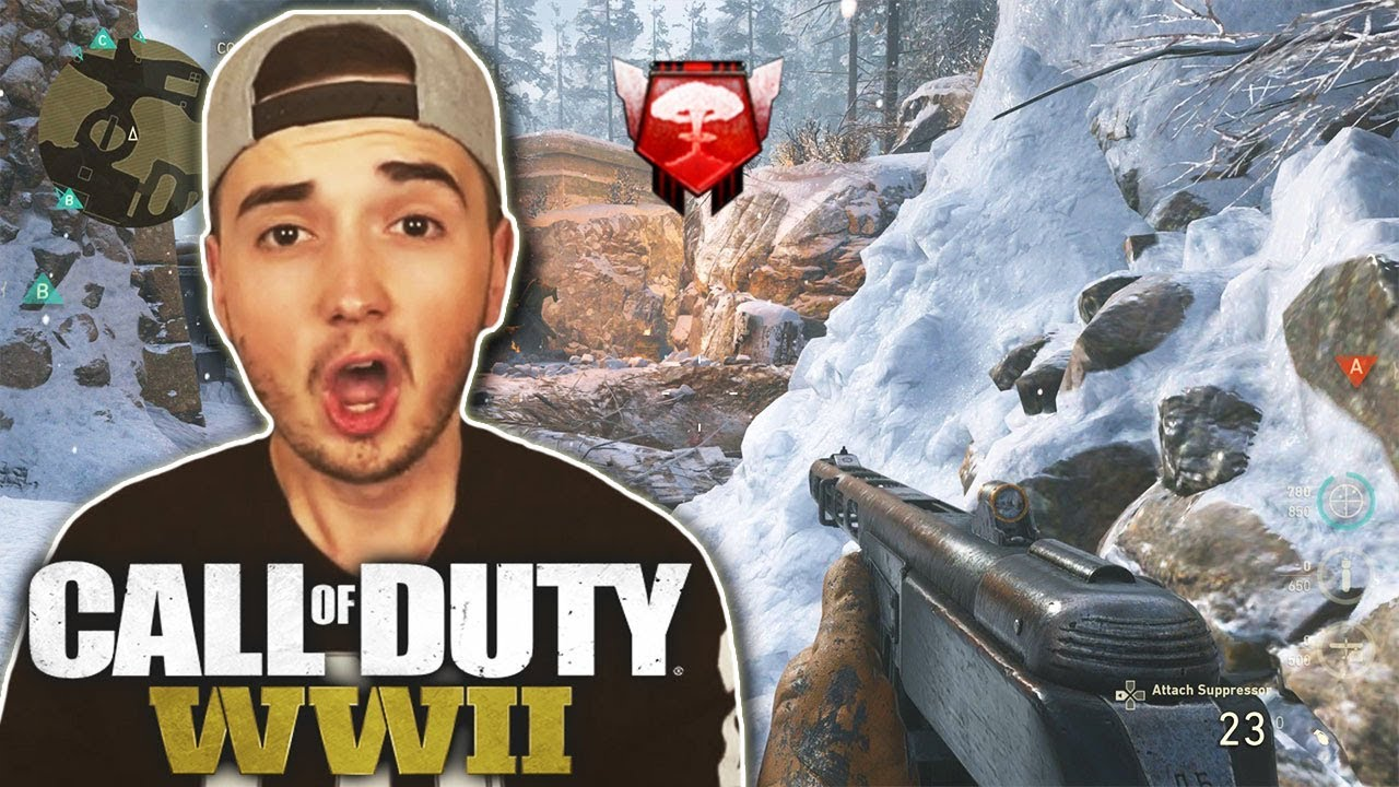 call of duty wwii das beste gameplay der welt youtube. Black Bedroom Furniture Sets. Home Design Ideas