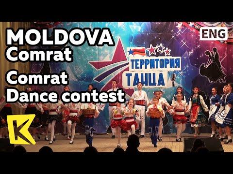 【K】Moldova Travel-Comrat[몰도바 여행-콤라트]참가의 의미가 있는 춤 경연/Dance/Contest/Art Culture Theater
