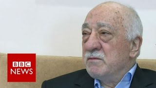 Exiled cleric Fethullah Gulen rejects Turkey 'coup' claims - BBC News