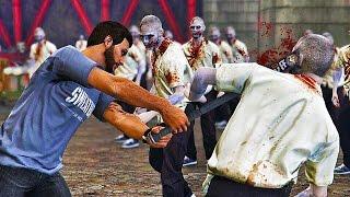 GTA 5 ZOMBIE APOCALYPSE - MILITARY BASE SAFE ZONE? GETTING MILITARY HELP! (GTA 5 Zombies Gameplay)