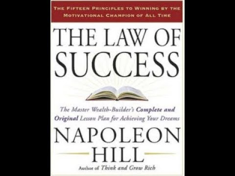 Napoleon Hill - The Law of Success in 16 Lessons Free Full Audio book