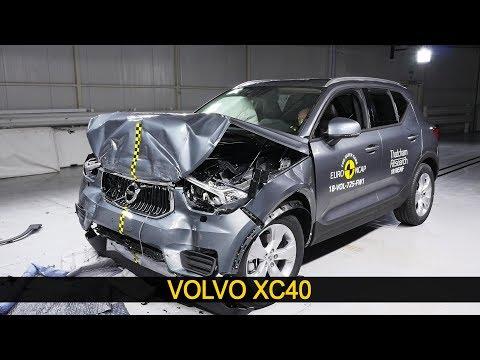 Volvo XC40 Crash Test Euro NCAP | July 2018 Ratings