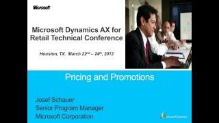 Microsoft Dynamics AX 2012 Prix de Détail et les Promotions