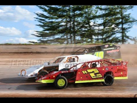 Skyline Speedway 5-7-2017 AMRA Modified Heat #3