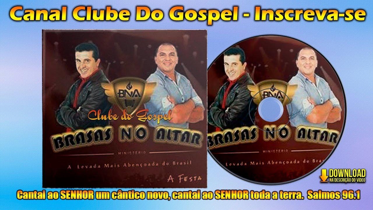 Brasas no Altar - A Levada mais Abençoada do Brasil - Forró Gospel ᴴᴰ