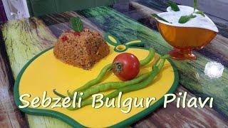 Sebzeli Bulgur Pilavı Tarifi (Meyhane Pilavı)