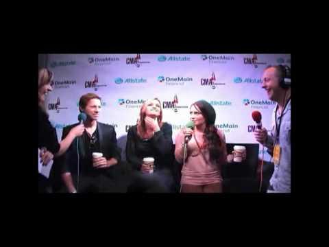 Edens Edge - Wakeup Crew CMA Interview