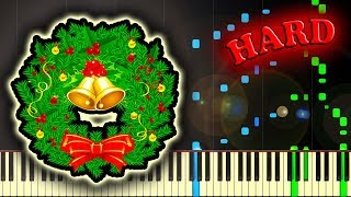 Скачать CAROL OF THE BELLS SHCHEDRYK Piano Tutorial