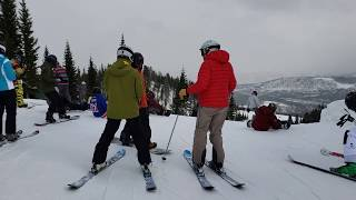 Skiing in Colorado - Peak 8 - Breckenridge Ski Resort Colorado 11/11/2018