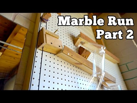 Pegboard Marble Run, Part 2 | Barb Makes Things #36