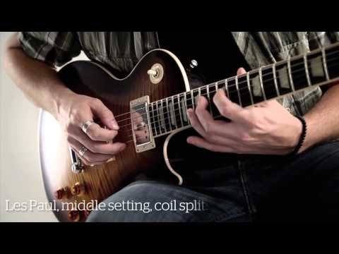Fender 2012 American Standards and Gibson 2012 Les Paul Standard demo (HD)