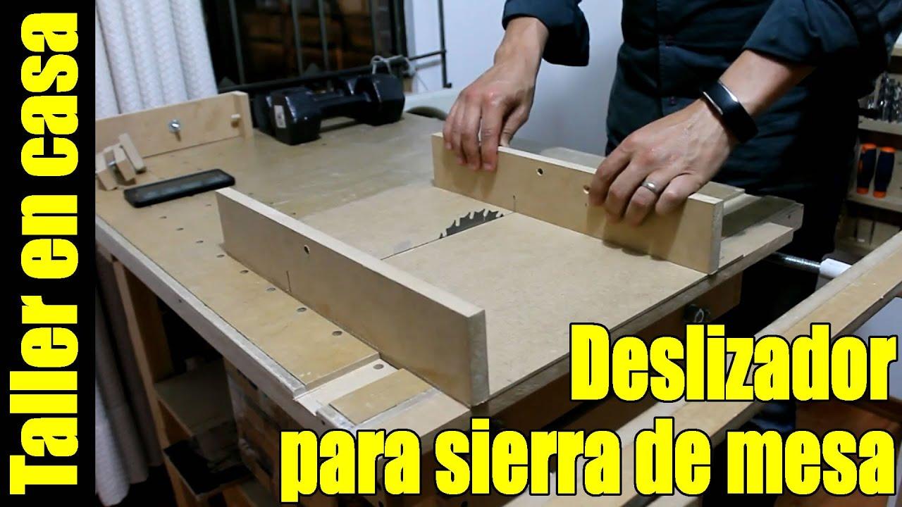 Diy sierra de banco parte 5 6 deslizador sierra circular for Sierras de mesa