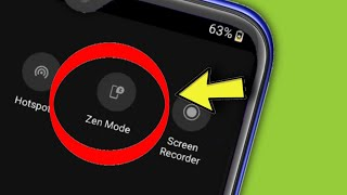 OnePlus || What is ( Zen Mode ) In Android Phone Zen mode Oneplus Nord