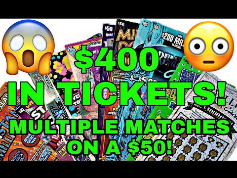 INSANE $400 SESSION! 4 $50 tickets and so much more!!  WINS!