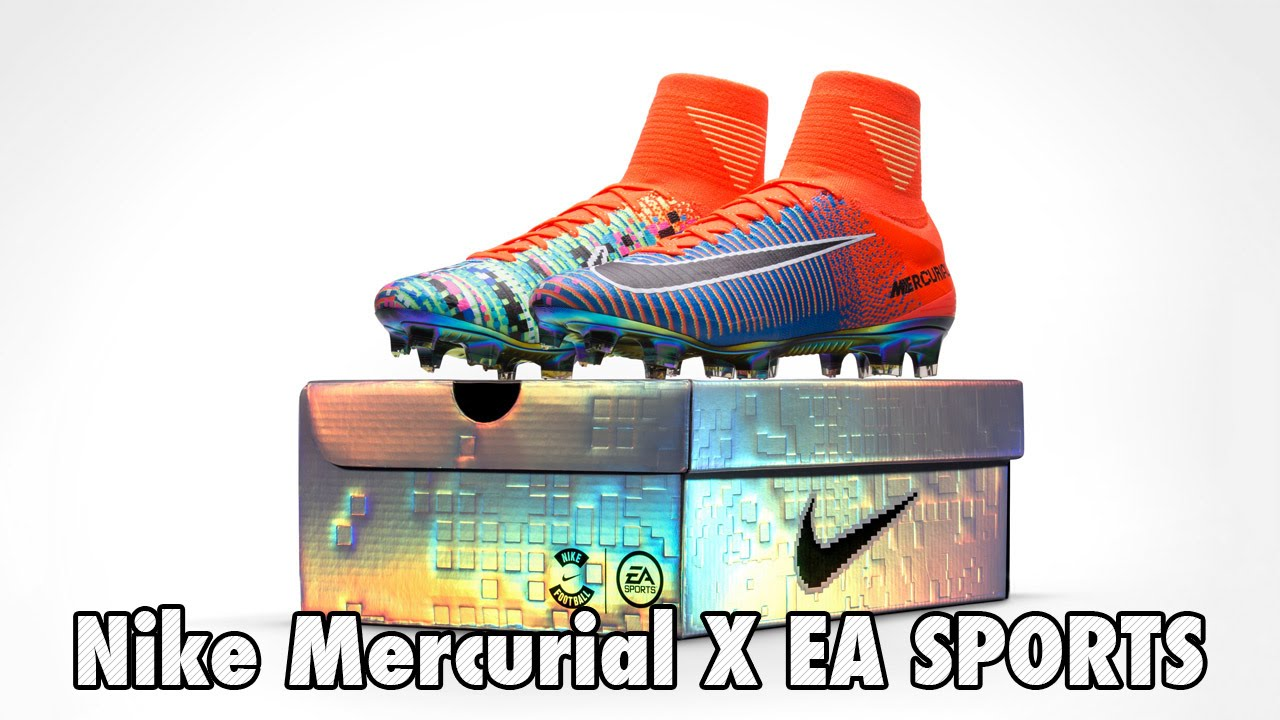 5b893a0c2ed1 Nike Mercurial X EA SPORTS Released  Limited Edition  - YouTube