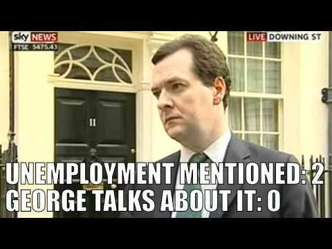 Osborne dodges unemployment questions