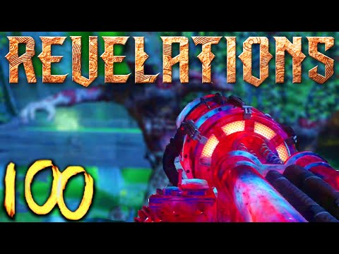 REVELATIONS ROUND 100 HIGH ROUND ATTEMPT (Black Ops 3 Zombies)