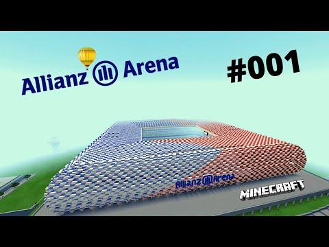 Minecraft Wir bauen die Allianz Arena #001*[HD] Das Spielfeld