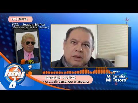 ¡Joaquín Muñoz reacciona ante la supuesta reaparición de Juan Gabriel en redes sociales! | Hoy