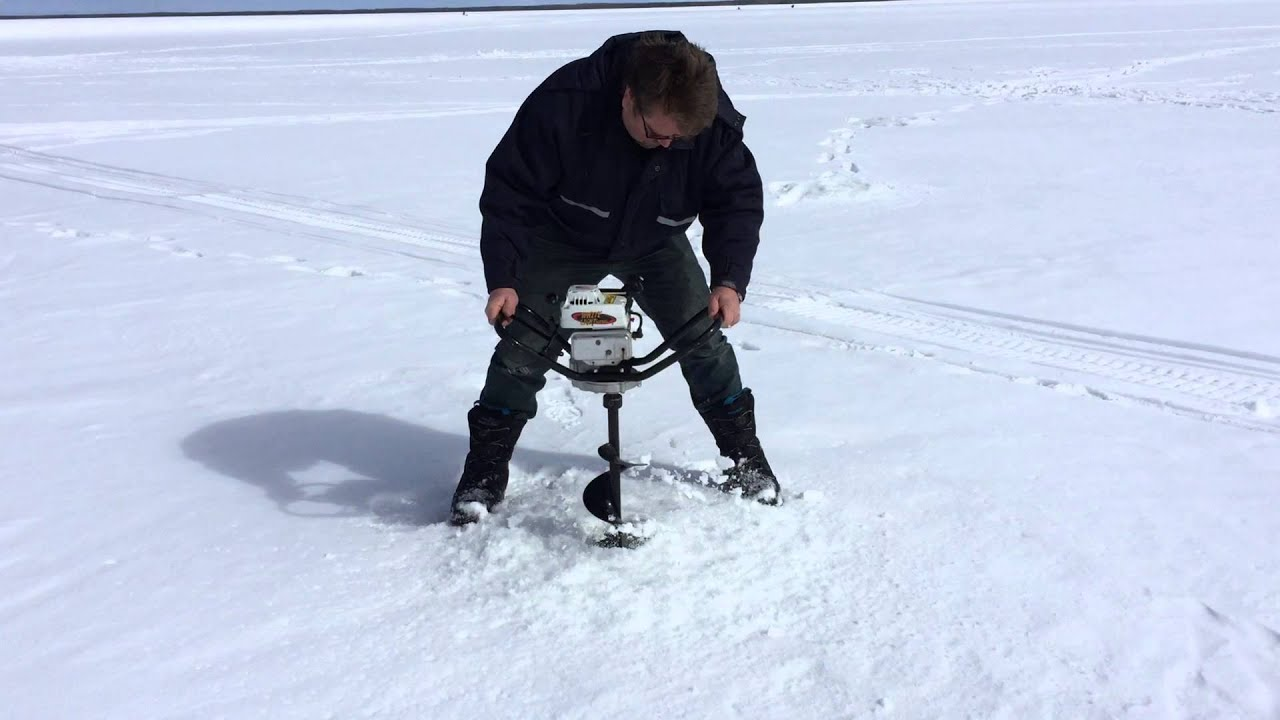 Jiffy ice augers fastest in the land