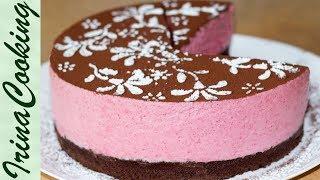 Постный ШОКОЛАДНЫЙ МУССОВЫЙ ТОРТ с вишней | Vegan Cherry & Chocolate Mousse Cake ○ Ирина Кукинг