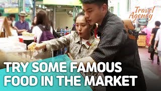 [Travel Agency 2] Ep 9-5 Try some famous food in the market