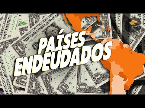 Los 20 pases MS ENDEUDADOS de Amrica Latina