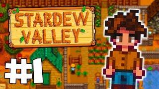 Stardew Valley Let's Play | FARMER ZERO - Part 1