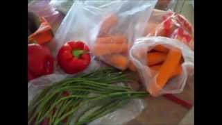 Farmers Market To Long Term Food Storage: Spicy Pickled Carrots & Green Beans