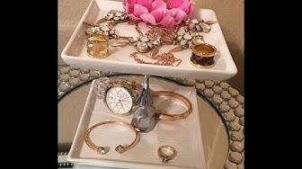 DIY Jewelry/Accessory Organizers/Organizador de jollas.