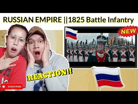 FILIPINO REACTION: Russian  Empire 1825 Battle Of Russian Line Infantry In Decembrist Revolt