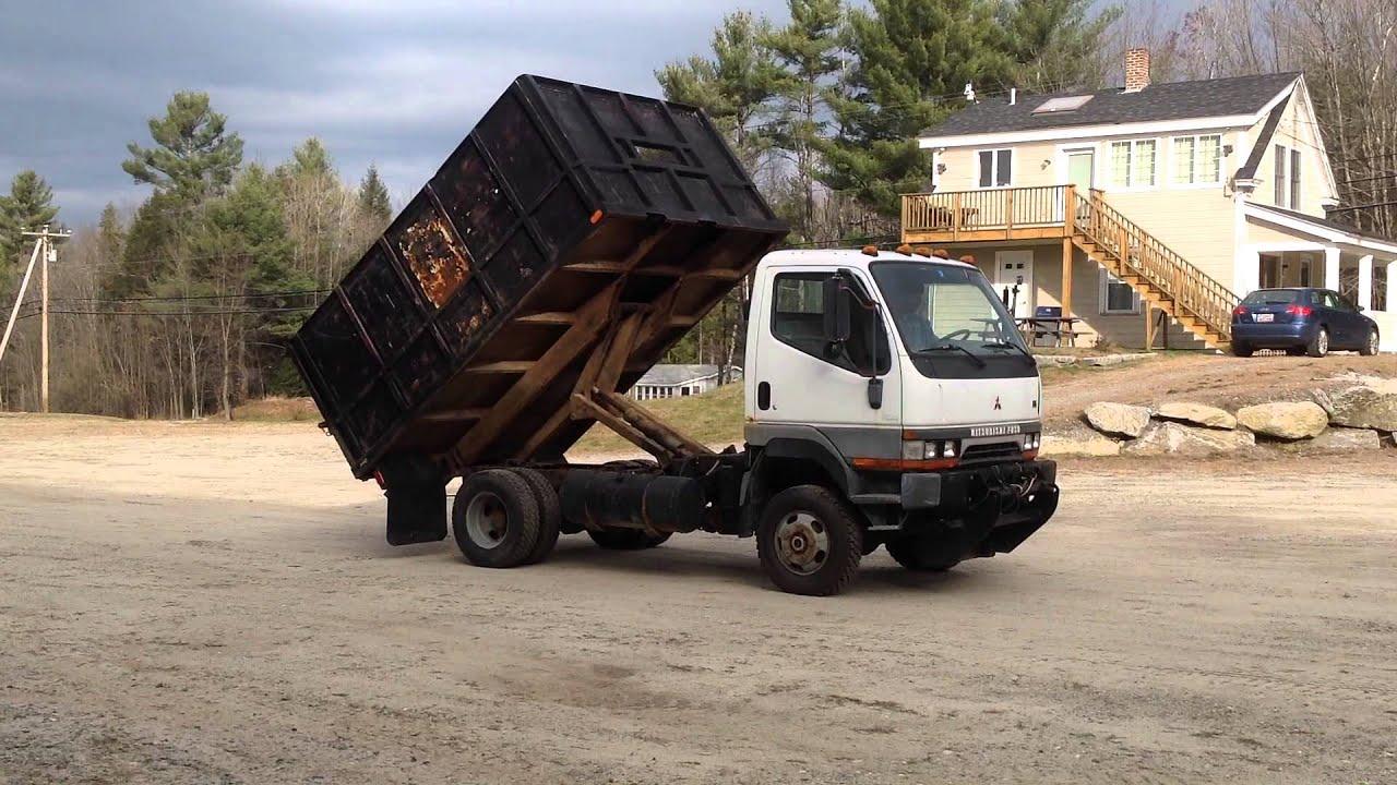 Mitsubishi Fuso FG 639 Dump Truck for sale atthe.com - YouTube