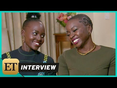 'Black Panther': Lupita Nyong'o and Danai Gurira (FULL INTERVIEW)