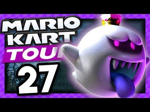 Roi Boo Est Dans Le Nouveau Tuyau Mario Kart Tour