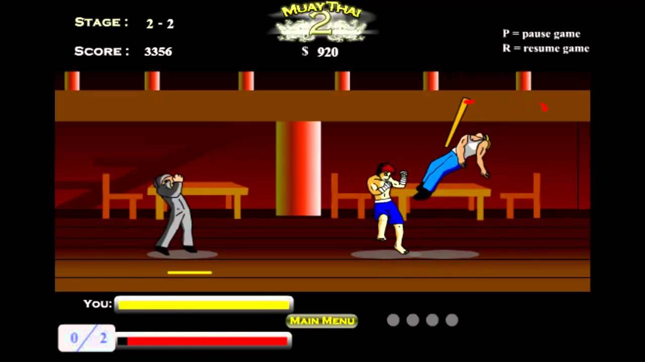 Muay Thai 2 Flash Game